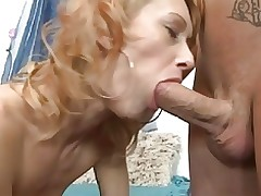 Stocking Mature Fucks Hard