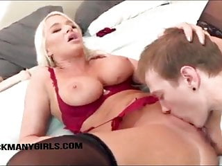 Divorced Blonde Wife Hires Paralegal To Fuck Her