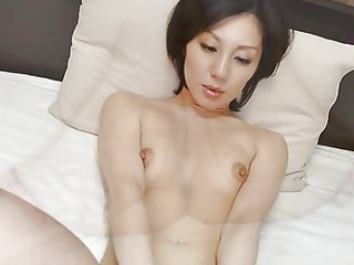 Japanese MILF Gets Tits Felt and Pussy Fingered